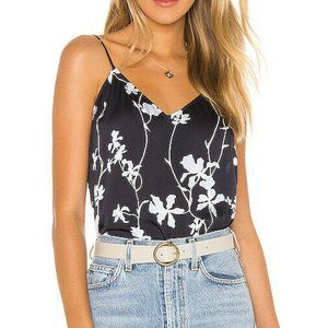 Equipment Layla Cami Floral Camisole Tank Silk
